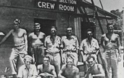 The Marine Section Crew Room was a place for the men, who manned the variety of boats could get together with the Base Personnel