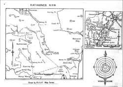 Map, Rathmines NSW provided the training for all M.S.Personnel as well as Operational Training for all Air Crews converting to Flying Boats & Seaplanes.